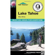 photo: Wilderness Press Top Trails Lake Tahoe us mountain states guidebook