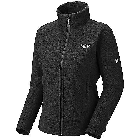 photo: Mountain Hardwear Women's Deflection Fleece Jacket fleece jacket