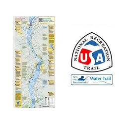 photo: Liberty Mountain Susquehanna River Trail Map and Guide - Lower us northeast guidebook