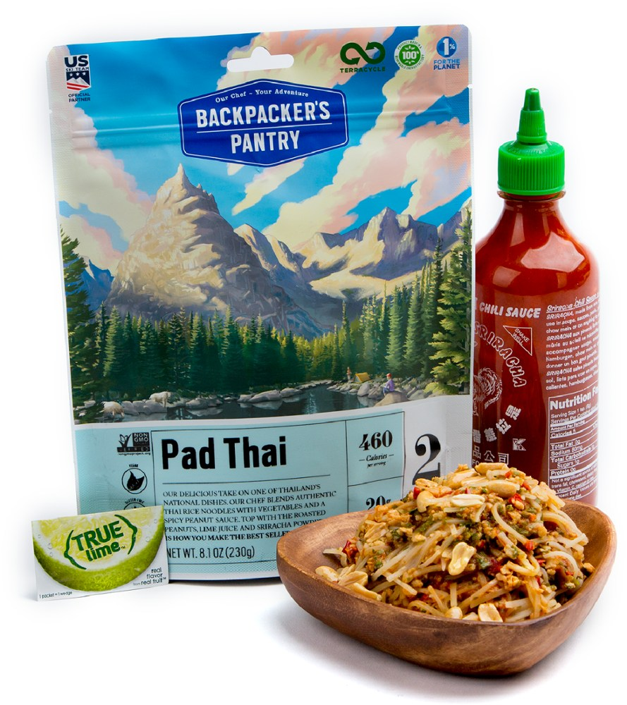 photo: Backpacker's Pantry Pad Thai vegetarian entrée