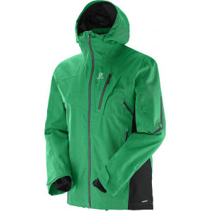 photo: Salomon Men's Foresight 3L waterproof jacket
