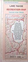 Tom Harrison Maps Lake Tahoe Map