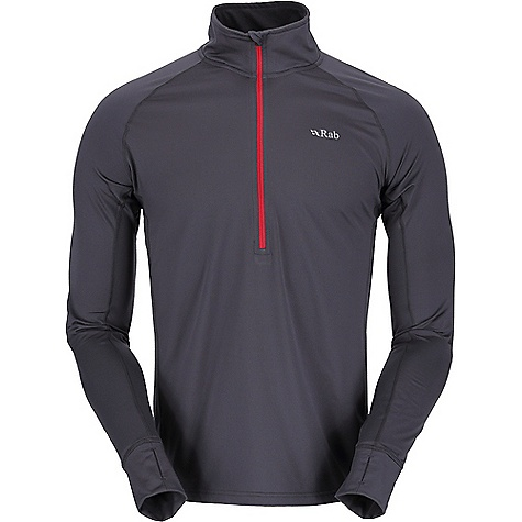 photo: Rab Flux Pull-On base layer top