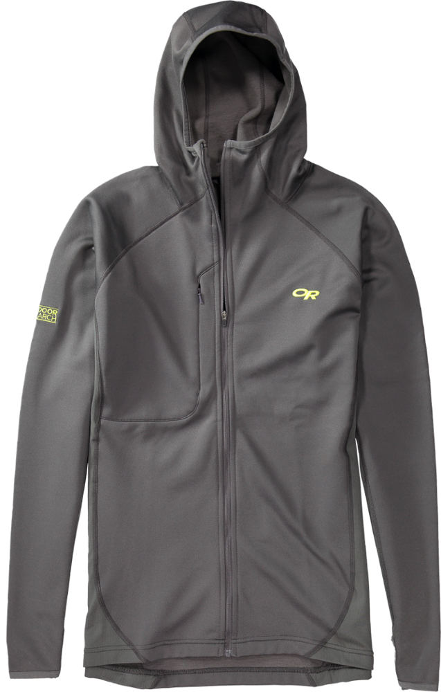 photo: Outdoor Research Radiant Hybrid Hoody fleece jacket