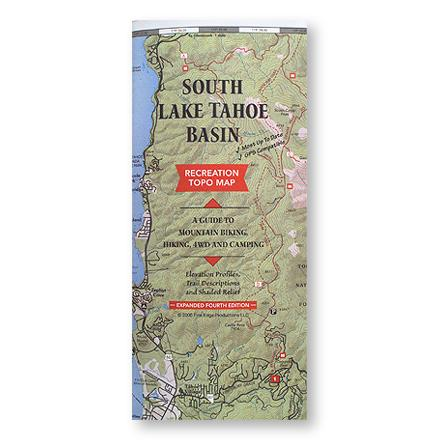 Fine Edge South Lake Tahoe Basin Map