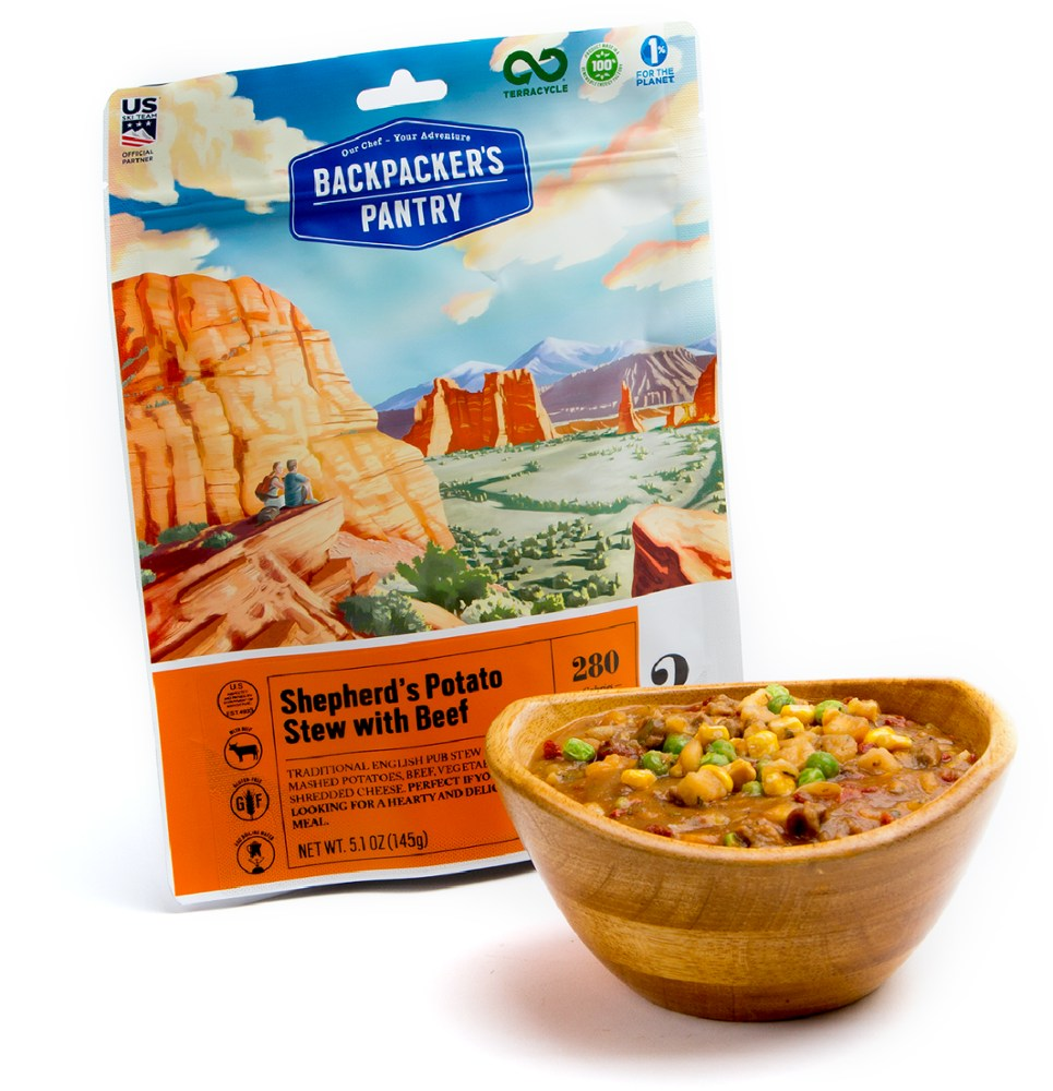 photo: Backpacker's Pantry Shepherd's Pie with Beef meat entrée
