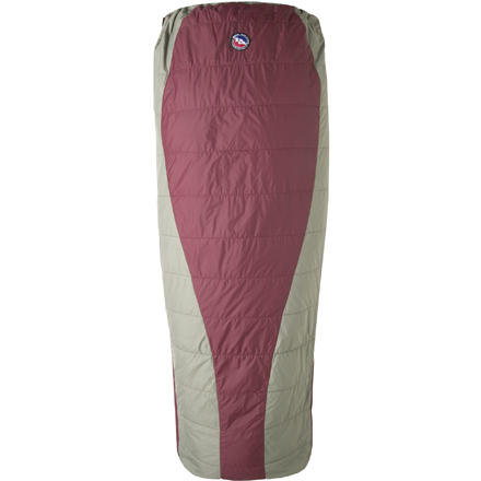 photo: Big Agnes Lost Dog 50° warm weather synthetic sleeping bag