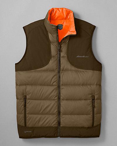 Eddie Bauer Downlight Reversible Field Vest