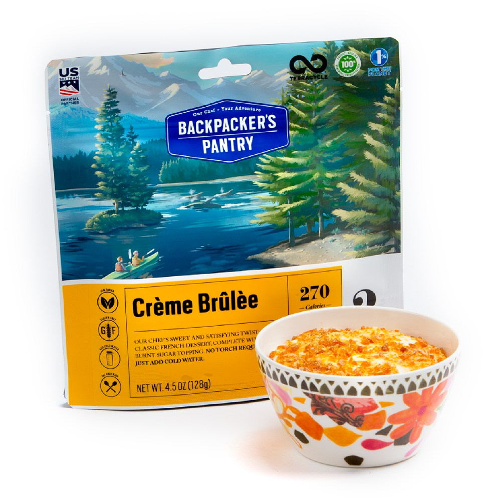 Backpacker's Pantry Creme Brulee