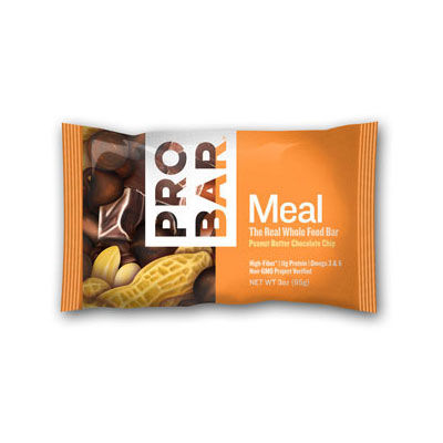 photo: ProBar Peanut Butter Chocolate Chip Meal Bar nutrition bar
