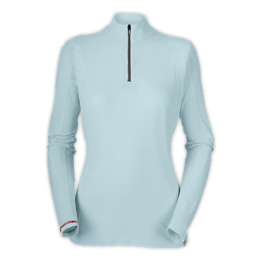 photo: The North Face Women's Light L/S Zip Neck base layer top