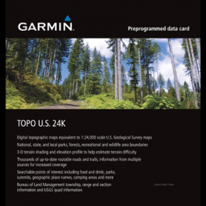 Garmin TOPO U.S. Southeast 24K microSD