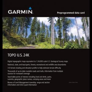 Garmin TOPO U.S. Northeast 24K microSD