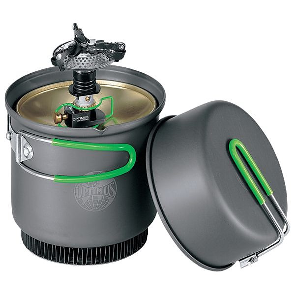 photo: Optimus Crux Weekend HE Cook System compressed fuel canister stove