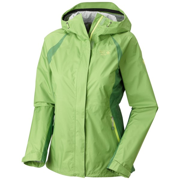 photo: Mountain Hardwear Sirocco Rain Jacket waterproof jacket
