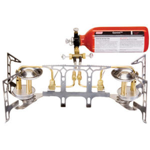 photo: Coleman Gemini Dual Fuel Stove liquid fuel stove