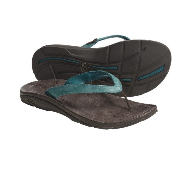 photo: Chaco Locavore Ecotread flip-flop