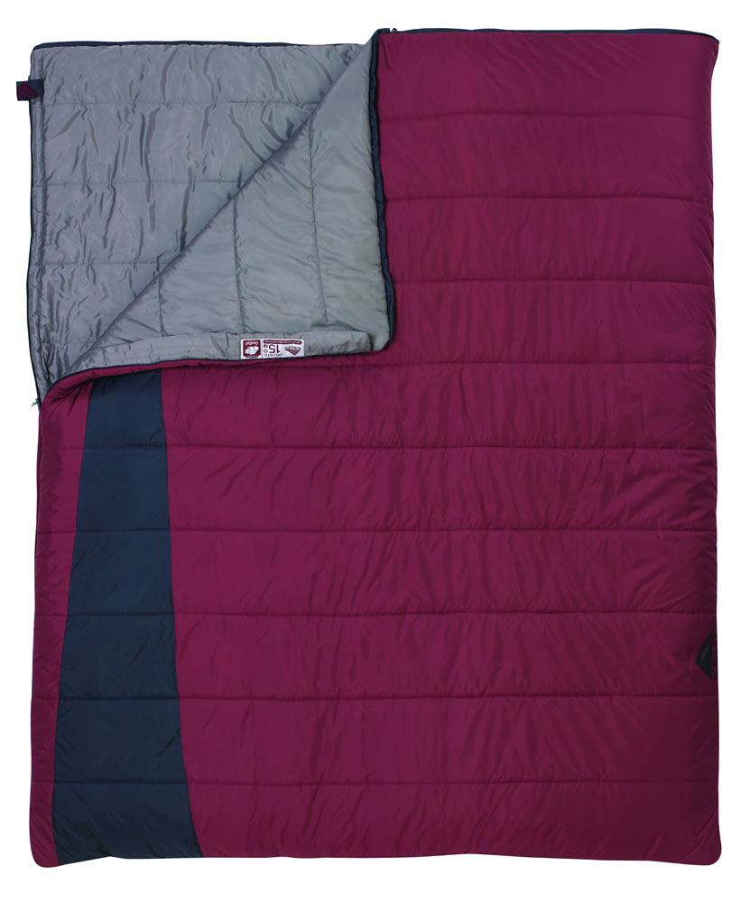photo: Kelty Callisto 15 Double 3-season down sleeping bag