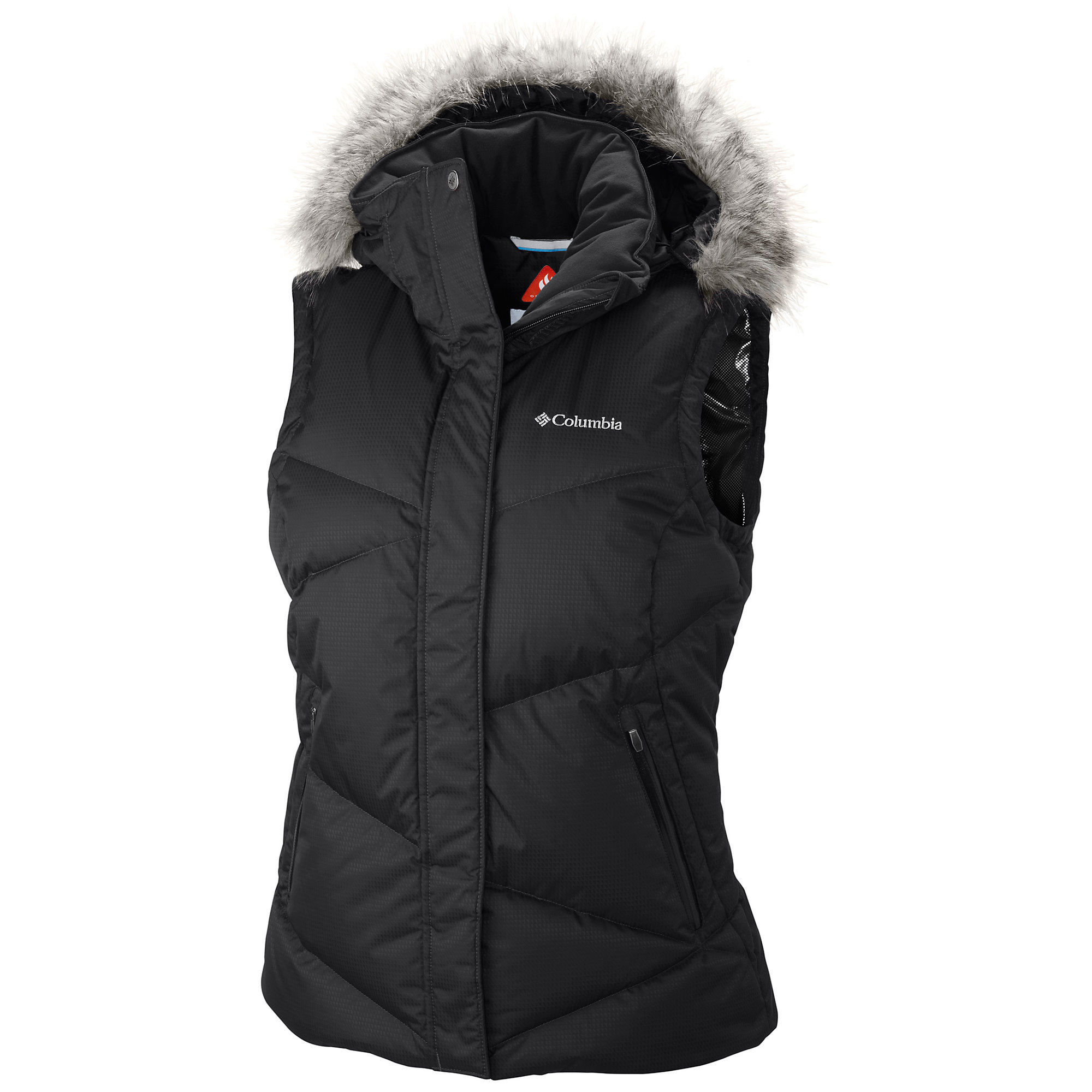 photo: Columbia Lay 'D' Down Vest down insulated vest