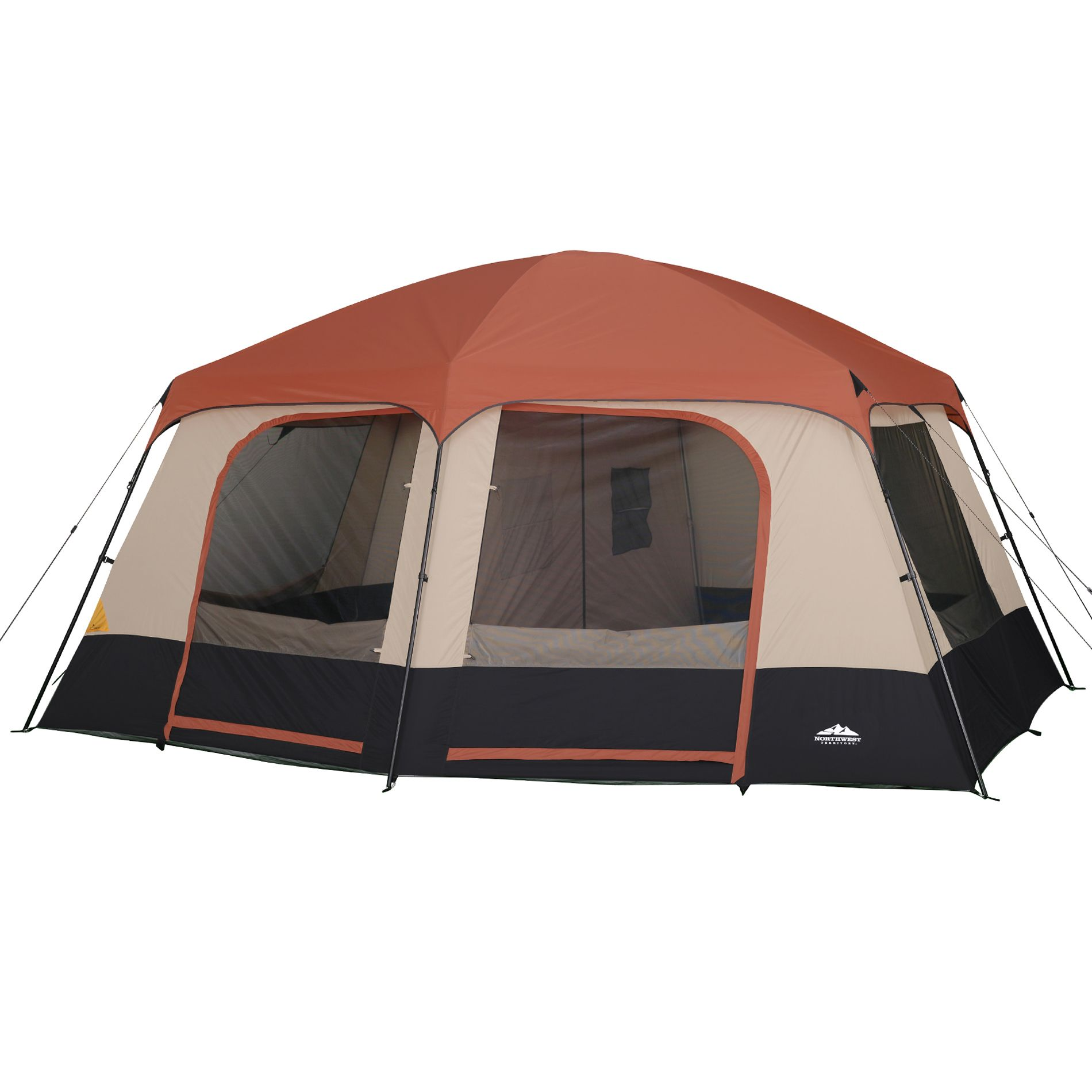 Northwest Territory Family Cabin 8-Person Tent 14' x 14'