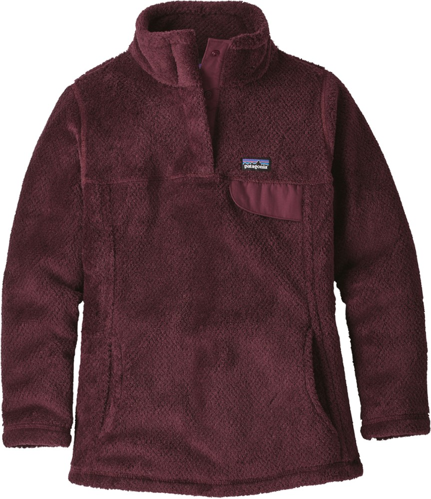 photo: Patagonia Girls' Re-Tool Snap-T Pullover fleece top