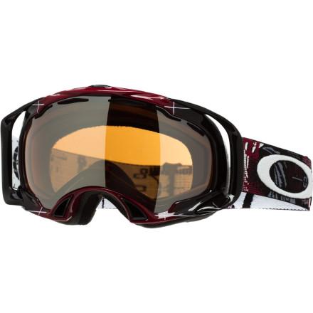 photo: Oakley Eero Ettala Signature Splice Aperture goggle