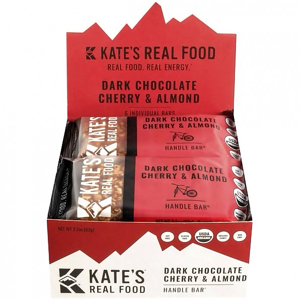 Kate's Dark Chocolate Cherry & Almond Handle Bar