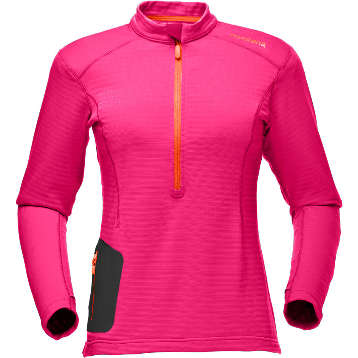 photo: Norrona Bitihorn Equalizer+ Zip Neck Shirt base layer top