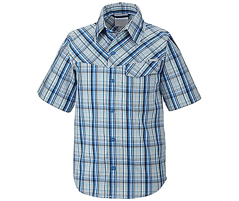 Columbia Silver Ridge II Plaid Short Sleeve Shirt