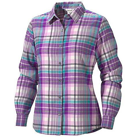 photo: Marmot Thalia Flannel LS hiking shirt