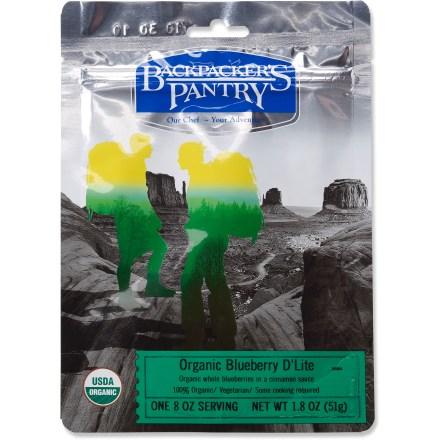 Backpacker's Pantry Organic Blueberry D'Lite
