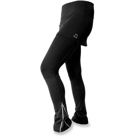 Skirt Sports Ice Queen Skirt with Leggings