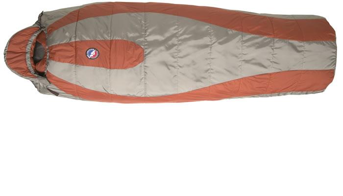 photo: Big Agnes Ripple Creek 35° warm weather synthetic sleeping bag