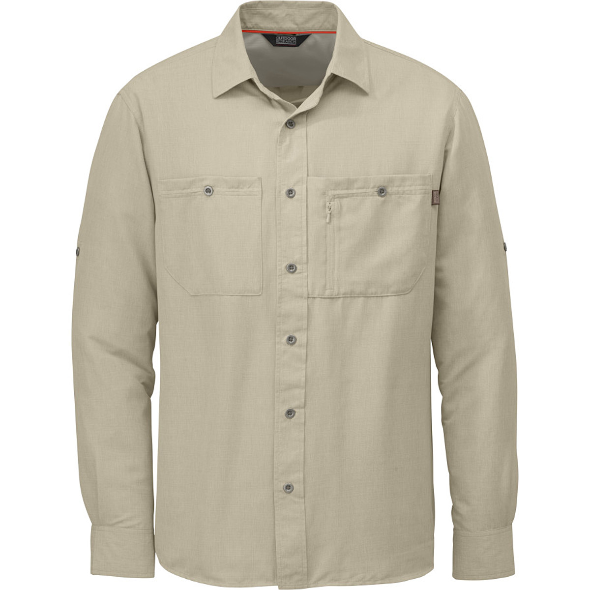 photo: Outdoor Research Wayward L/S Shirt hiking shirt