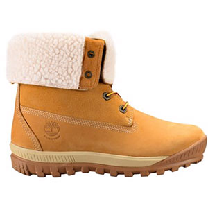 Timberland Woodhaven Fleece-Lined Waterproof Boots