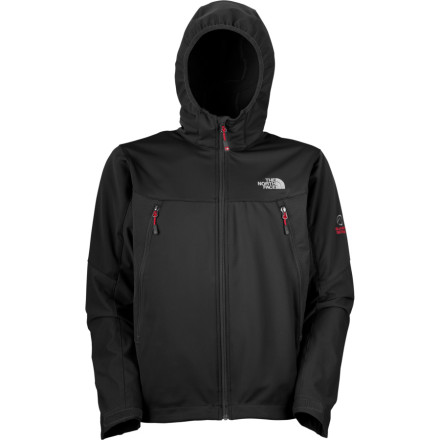 photo: The North Face Cipher Windstopper Jacket soft shell jacket