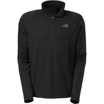 photo: The North Face Men's Ventana 1/4 Zip long sleeve performance top