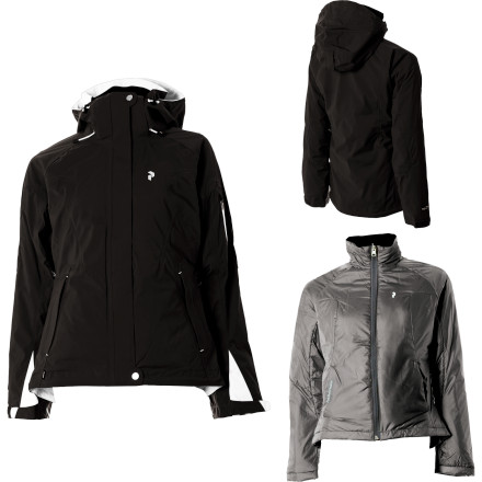 photo: Peak Performance Snowmass Jacket component (3-in-1) jacket