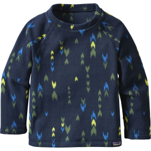 photo: Patagonia Baby Micro D-Luxe Striped Pullover fleece top