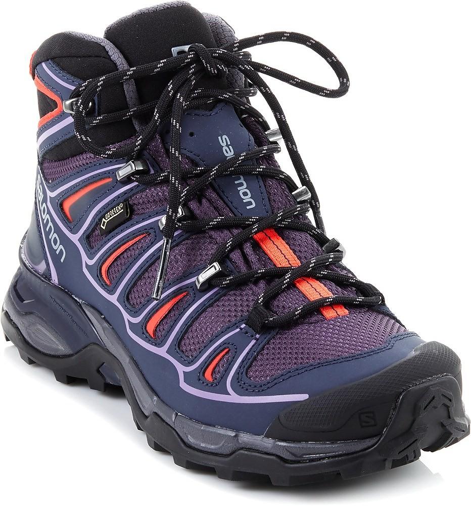 photo: Salomon Women's X Ultra Mid 2 GTX hiking boot