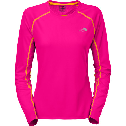 photo: The North Face Women's L/S GTD Crew long sleeve performance top