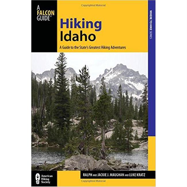 photo: Falcon Guides Hiking Idaho us mountain states guidebook