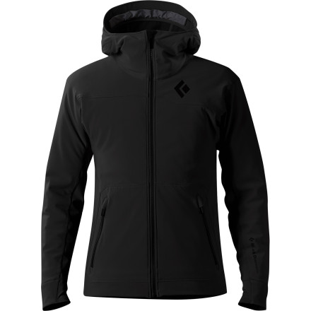 photo: Black Diamond Post-Op Hoody soft shell jacket