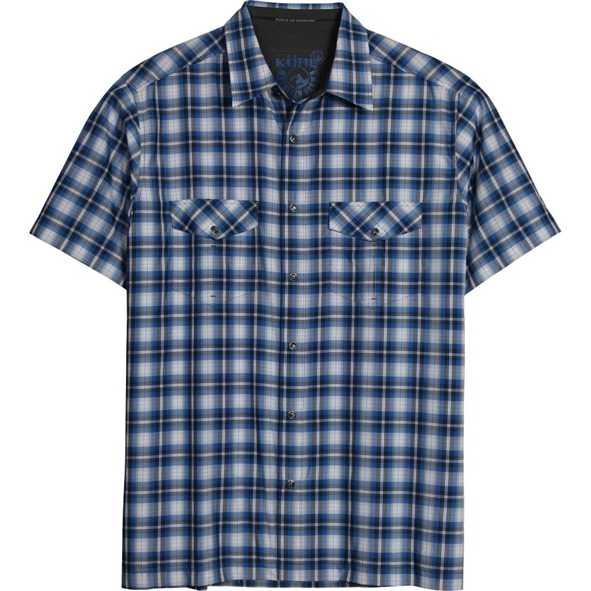 photo: Kuhl Men's Rumblr Short-Sleeve Shirt hiking shirt