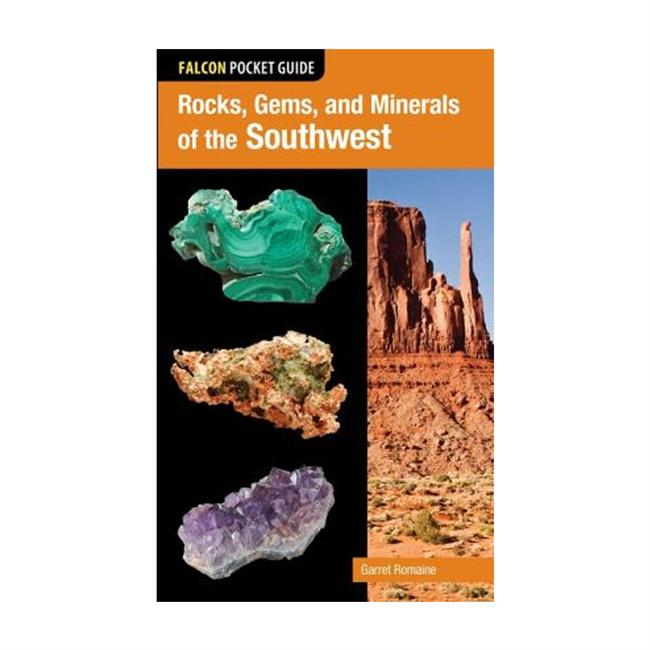 Falcon Guides Pocket Guide: Rocks, Gems, and Minerals of the Southwest