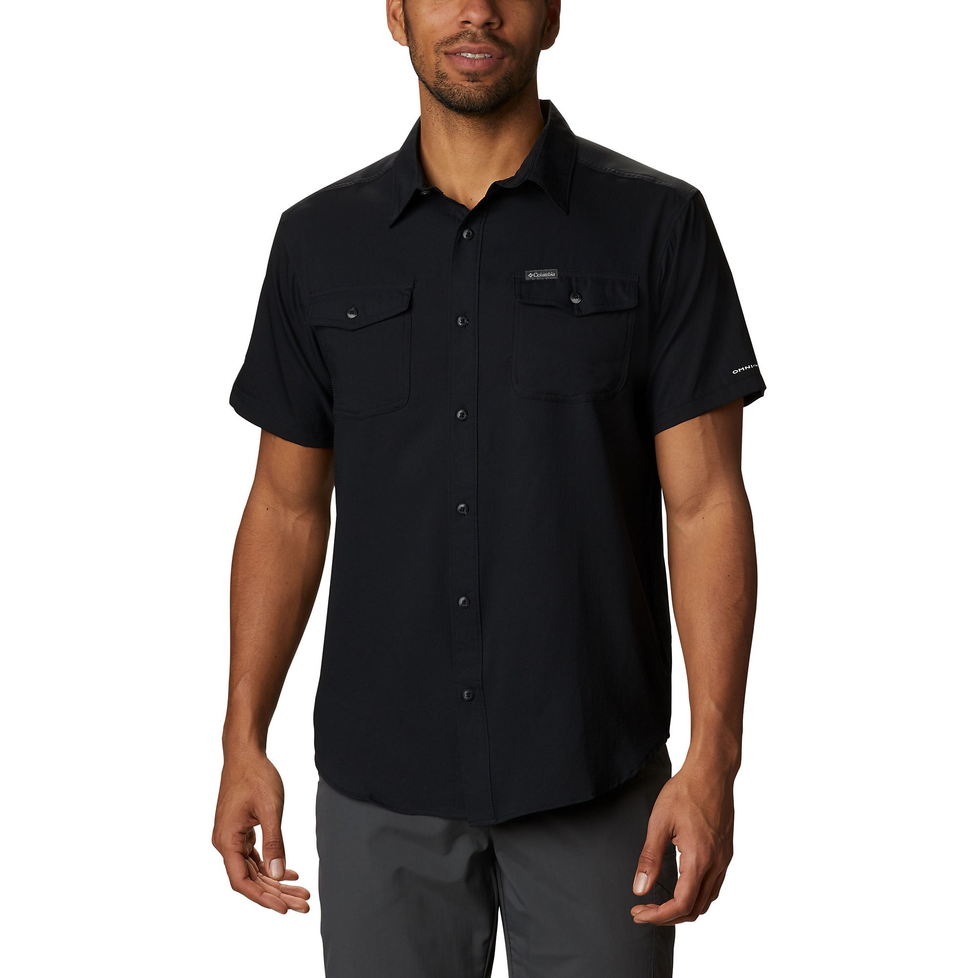 photo: Columbia Utilizer II Short Sleeve Shirt hiking shirt