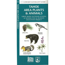 Waterford Press Tahoe Area Plants And Animals - A Pocket Naturalist Guide