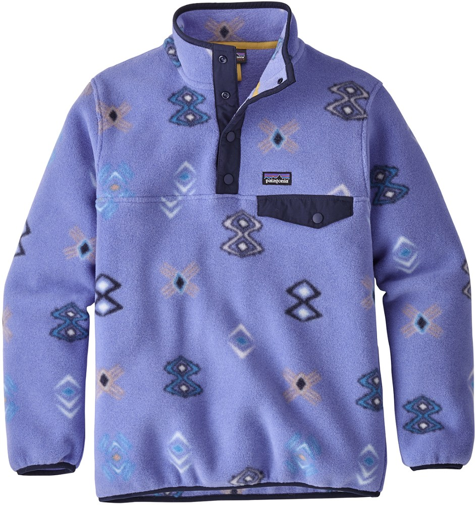 photo: Patagonia Kids' Synchilla Snap-T Pullover fleece top