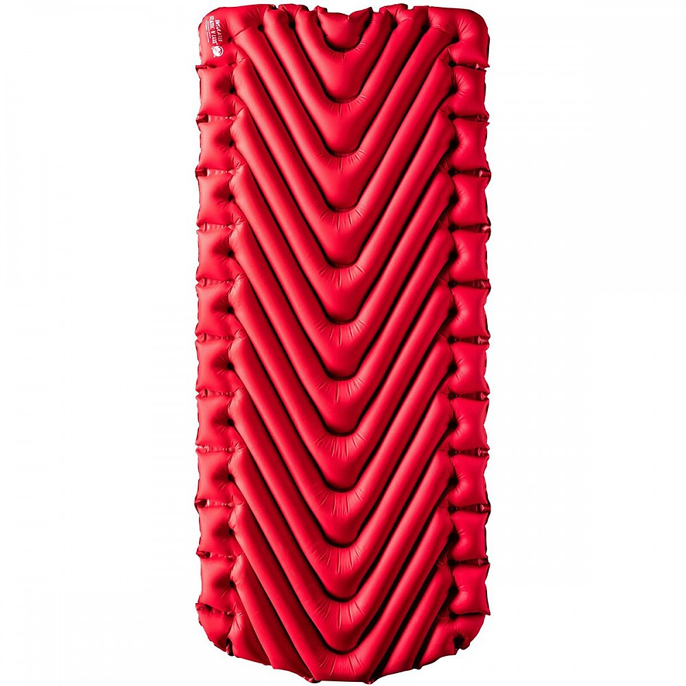 photo: Klymit Insulated Static V Luxe air-filled sleeping pad