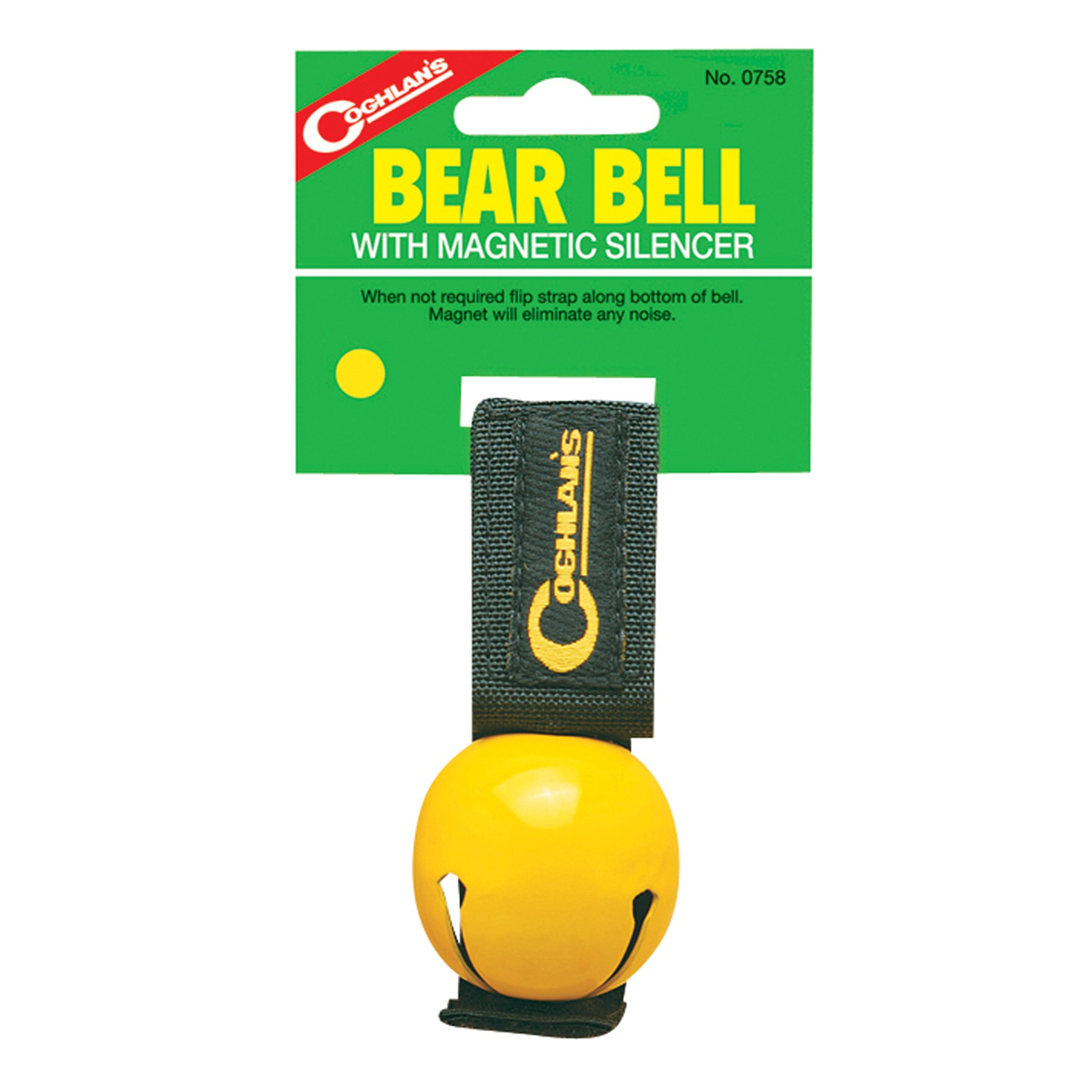 photo: Coghlan's Bear Bell with Magnetic Silencer bear bag/bell